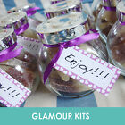 10 PERSONALISED RETRO SWEETS JAR PARTY WEDDING ANNIVERSARY BIRTHDAY GIFT FAVOUR