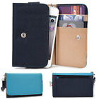 Two-Tone Protective Wallet Case Clutch Cover for Smart-Phones ESAMMT-1