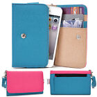 Two-Tone Protective Wallet Case Clutch Cover for Smart-Phones ESAMMT-2