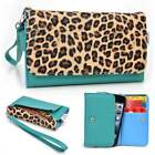 Safari Pattern Protective Wallet Case Clutch Cover for Smart-Phones SFESAMMT-5