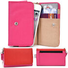 Two-Tone Protective Wallet Case Clutch Cover for Smart-Phones ESAMMT-8
