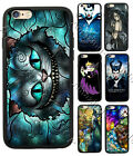Maleficent Sleeping Beauty Alice Phone Case Cover Fit for Iphone & Samsung