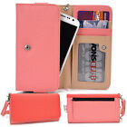 Protective Wallet Case Clutch Cover & Organizer for Smart-Phones KroO ESMT29