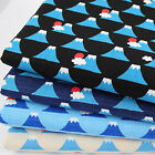CT Mount Fuji Dobby 100% Cotton Japanese Fabric