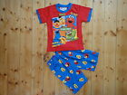 BNWT Elmo  Boys Summer Pyjamas/PJ Size 0, 1,2,3,4,5,6