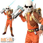 Deluxe Ezra Boys Fancy Dress Star Wars Rebels Cartoon Kids Childs Costume Outfit