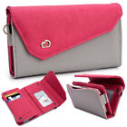 Womens Link Wallet Case Clutch Cover for Smart Cell Phones by KroO CRWL7