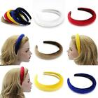 Fashion Women Girl 13*15CM Padded Velvet Headband Multicolor Hairband Hair Decor