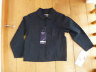 TRESPASS 'FAITH' SMART BLACK COTTON CANVAS JACKET 5 TO 6 YEARS BNWT