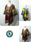 Dashiki African Festival Hippie Poncho Festival Unisex T-shirt Poncho Mexican UK