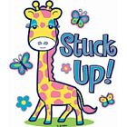 Stuck Up Yellow  Giraffe  Tshirt    Sizes/Colors