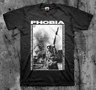PHOBIA 'Soldier' T shirt (Napalm Wormrot Insect Warfare Magrudergrind)