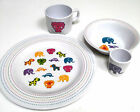 Dine  Children's  Breakfast/Tableware set 4 piece set plate/cup/bowl/eggcup 12m+