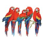 5 Scarlet Macaws   Tshirt   Sizes/Colors