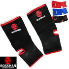 BOSSMAN COMBAT SPORTS muay thai ankle guard - kickboxing sock support protection