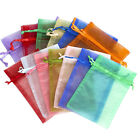 50/100/200/500 Organza Wedding Party Favor Gift Candy Sheer Bags Jewelry Pouch фото