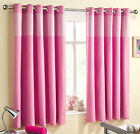 SWEETHEART – Thermal Curtains – Gingham Insert – Ring Top – Quality Range