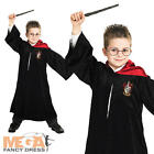 Deluxe Harry Potter Robe Kids Fancy Dress Book Week Boys Girls Costume Outfit
