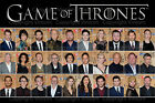 Game Of Thrones Cast Poster, All Seasons, Exclusive, Photo, Picture, All Sizes