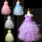 #PF5 Flower Girl Wedding Gowns Dresses 3-14 Years