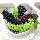 Artificial Fake Faux Small 22-Grapes Bunch Decorative Fruit Cluster Party Decor