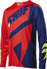 Shift Racing Navy Blue/Red Black Label Mainline Dirt Bike Jersey MX ATV BMX MTB