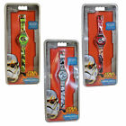 STAR WARS Digital Watch with Time & Date display 3 Designs Official Merchandise