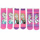 Disney Frozen Childrens Socks - 3 Great Designs - Anna, Elsa, Olaf