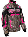 Castle Youth Realtree Xtra Hot Pink Bolt G3 Snowmobile Jacket Snow Snowcross