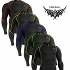 emfraa SKIN Compression Tight cycling  mma running Top golf cool dry Shirt S~2XL