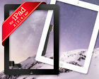 NEW Touch Digitizer Screen Glass w/ Home Button Frame Bezel for iPad 2 3 4 5 Air