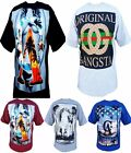 Mens T-Shirt Cali Hip Hop Urban Wear On Pro Club Tee Paradise Palms