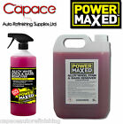 Power Maxed Alloy Wheel Cleaner Stain & Mark Remover Acidic 1Ltr & 5 Ltr Valet