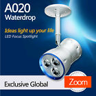 A020 Waterdrop LED focus spotlight for Art Gallery lighting from LEDing the life