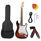 Electric Guitar Including Strap, Guitar Case,Pick,Strings,Wh