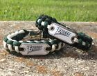 Philadelphia Eagles Paracord Bracelet w/ NFL Dog Tag and Metal Buckle AWESOME!!! on eBay