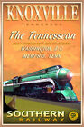 Knoxville TN Tennessean Southern Railway PS4 Pacific Train Poster Art Print 291