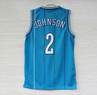 Allen K. Johnson Charlotte Hornets #2 SLEEVED Jersey Swingma NBA final S-2XL