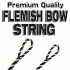 "59"" ACTUAL LENGTH FLEMISH Fastflight RECURVE BOW STRING BOWSTRING - 10 COLORS"