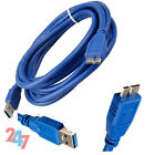 SuperSpeed USB 3.0 A Male to B Micro Sync Data Power HDD Hard Drive PC Cable NEW