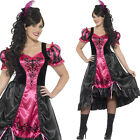Plus Size Saloon Girl Costume Sizes 16-30 Wild West Fancy Dress Smiffys 26529