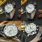 Gift MCE Fashion 6-Hands Dial Watch Luxury Automatic Mechanical Date Week Watch