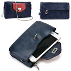 Womens Fashion Smart-Phone Wallet Case Cover & Crossbody Purse EI64-6
