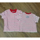 *NEW* BABY BOYS BOBOLI KNIT TSHIRT STRIPED 318103 SUMMER TEE RED SPANISH BRAND