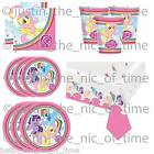 MY LITTLE PONY Girls Birthday Party Tableware Plates Cups Napkins Tablecover