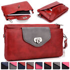 Womens Fashion Smart-Phone Wallet Case Cover & Evening Purse EI64-1