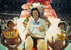 Art print POSTER Tennis Player Billie Jean King Being Carried on Palanquin