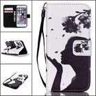 For Apple iPhone 5 5S SE Phone Case Flip PU Leather Cover Book Stand Wallet Card