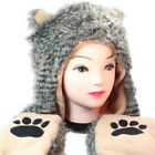 Fuzzy Long Animal Hats - Unisex - Perfect Gift for Him or Her