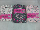 Womens Pajamas Joe Boxer flannel 2 Pc Poodles Pandas Zebras S M L XL 1X 3X New
